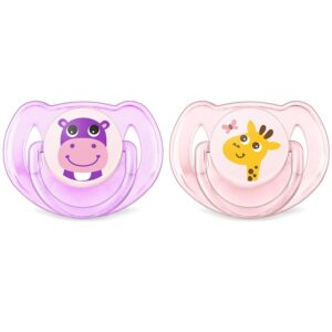 -philips-avent-safari-baby-girl-pacifiers-6-18-months-set-of-2